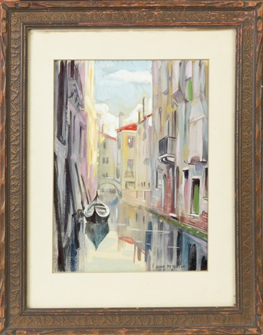 venice scene by jane peterson