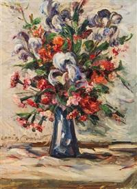 blumenstillleben by lovis corinth