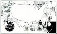 americani: storia dei popoli a fumetti by attilio micheluzzi