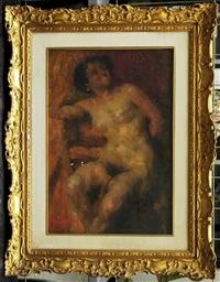 nudo femminile by giuseppe maldarelli