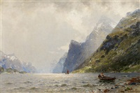 am fjord by georg anton rasmussen