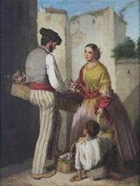 escena familiar by manuel cabral aguado bejarano