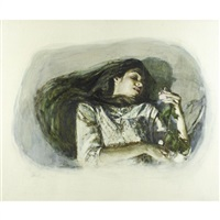 girl and the rose #4 by shirl goedike