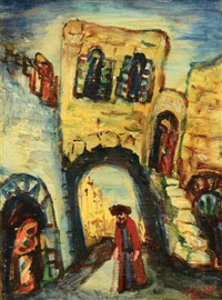 figure in safed by isaac frenel