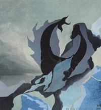 blauer schreck by wolfgang hildesheimer