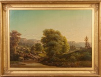 view of rockland county by sanford robinson gifford
