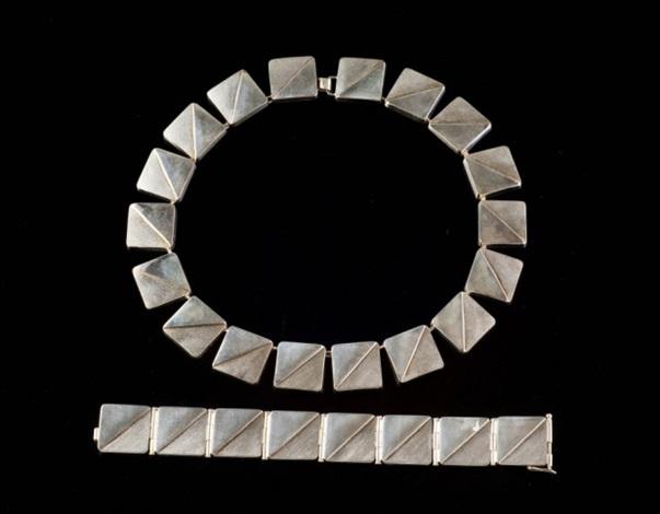 kaulakoru ja rannekoru necklace and bracelet by kaija aarikka