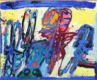 blå figurer (blue figures) by knud nielsen