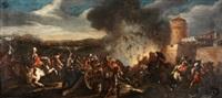 escena de batalla by jacques d' arthois