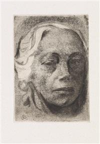 zehn originalradierungen (portfolio with complete set of 10) by käthe kollwitz