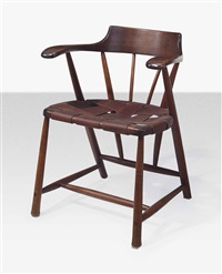 captain's chair by wharton h. esherick