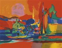 paysage by marcel mouly
