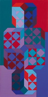 tridim-may by victor vasarely