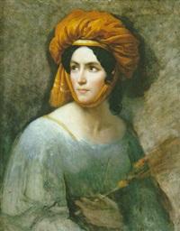 portrait (cornelie falcon?) by françois louis dejuinne