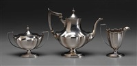 coffee service (set of 3) by bailey, banks and biddle