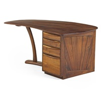 single pedestal desk by wharton h. esherick