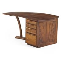single pedestal desk by wharton h. esherick