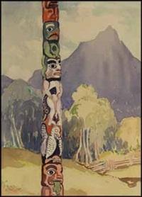 tsimshian pole - hazelton by mildred valley thornton