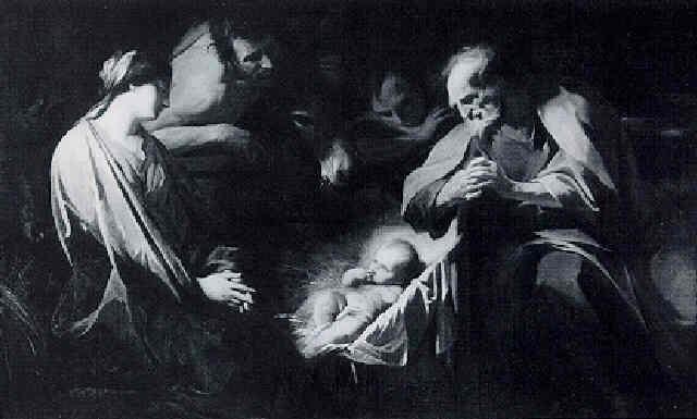 the nativity by jean valentin (de boulogne)