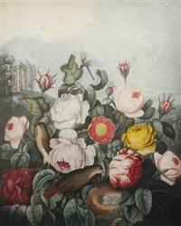 roses (after robert john thornton md) by richard earlom