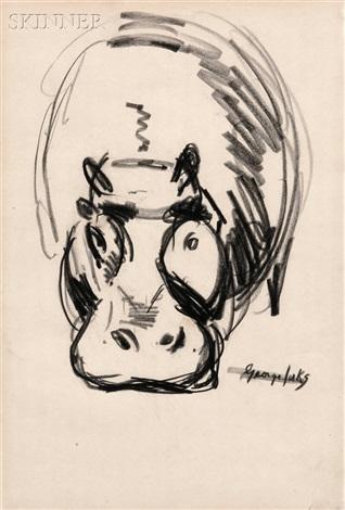 hippo by george benjamin luks