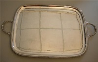 two-handled tray by walker and hall
