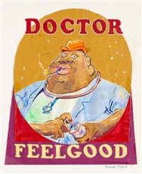 dr. feelgood (cover) by frank huntington stack