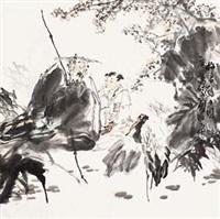 梅妻鹤子 by a ping