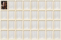 untitled (in 32 parts) by hanne darboven
