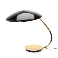 large adjustable table lamp, shade and base (model 6787) by christian dell