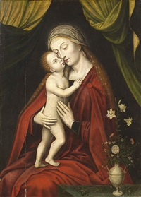 madonna col bambino by flemish school (16)