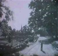 junisonne (motiv vom stanmerpark bei brighton in england) by fritz von kamptz
