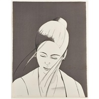 grey pamela by alex katz