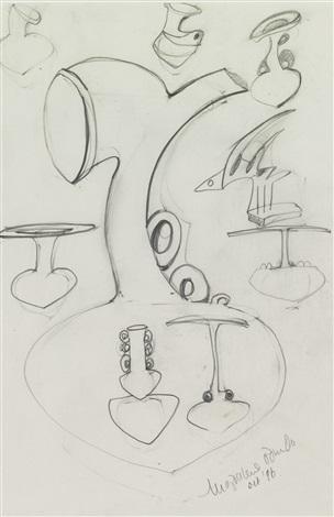 untitled (study drawing) by magdalene odundo