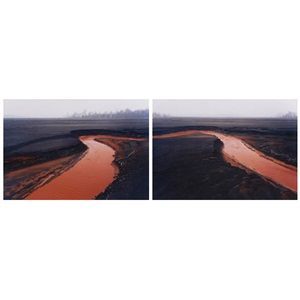 nickel tailings 34 and 35 2 works0 by edward burtynsky