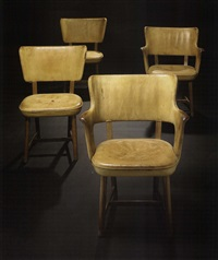 chairs (pair) by tyge hvass