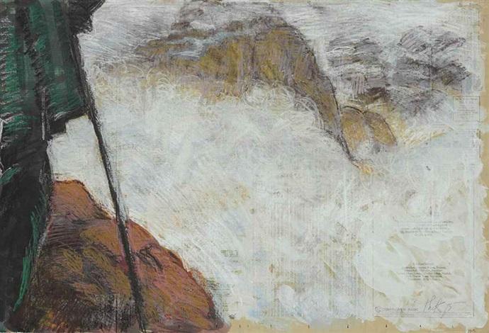 untitled (rockscape) by paul thek