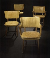 armchairs (pair) by tyge hvass