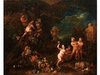 allegorie der irdischen liebe by jan pauwel gillemans the younger