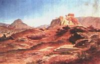 griechische landschaft by heinrich gärtner