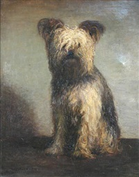 study of a yorkshire terrier by frederick william jackson
