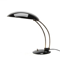 adjustable table lamp, shade and base (model 6764) by christian dell