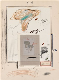 natural history part i (no.iii) by cy twombly
