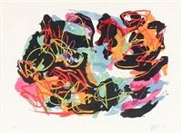 abstrakt komposition by karel appel