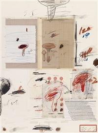 natural history part i (no.iv) by cy twombly
