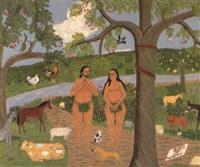 paradis terrestre après je pêche by philomé obin