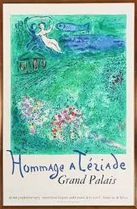 hommage a tériade, grand palais by marc chagall
