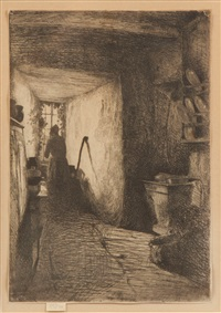 the kitchen by james abbott mcneill whistler