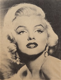 marilyn monroe goddess by russell young