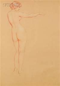 full length nude by philip leslie hale